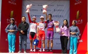 José Neves, tercero en la etapa reina de China y a 1 segundo del liderato