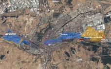 Áreas de Riesgo Potencial Significativo de Inundación en la cuenca hidrográfica del Duero