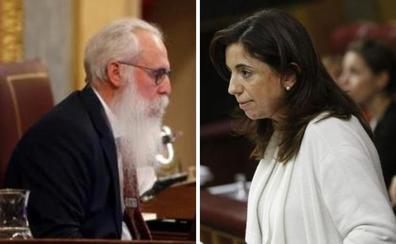 Solo Moneo y Zamarrón intervienen en el Congreso de los Diputados en esta legislatura