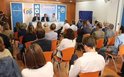 El PP de Burgos, a la espera de las órdenes de Génova para confirmar las listas electorales