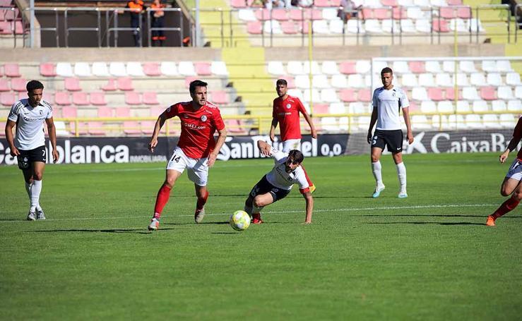 Imágenes del partido entre Burgos CF y Salamanca CF