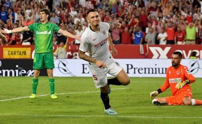 El Sevilla se reanima y frena a la Real
