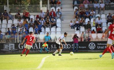 Un solitario gol de Marcelo da la primera victoria de la temporada al Burgos CF