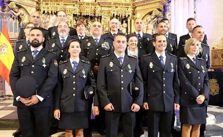 La Policía Nacional celebra los Ángeles Custodios