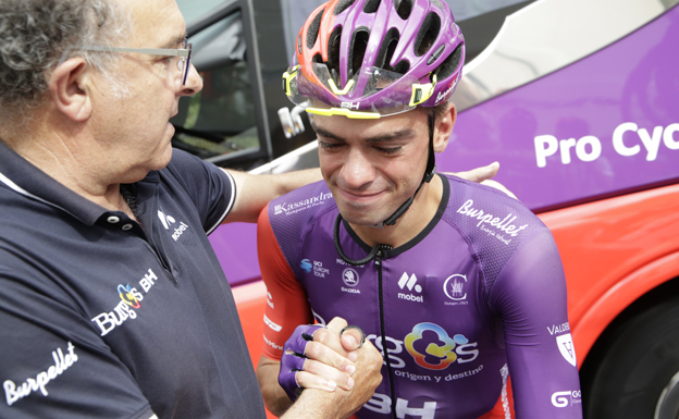 Nuno Bico se retira del ciclismo profesional por recomendación médica
