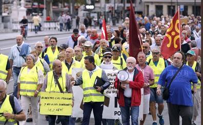 La marcha por las pensiones llega este viernes a Aranda