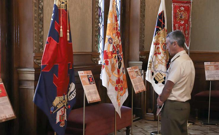 Exposición 'Banderas de España'