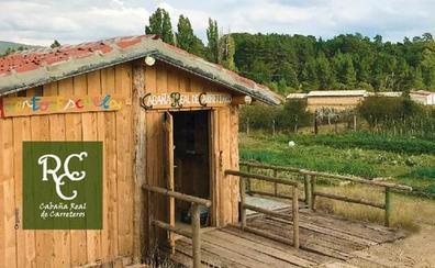La Cabaña de Carreteros recupera las Jornadas de Silvicultura de Montaña a través de su proyecto de huerto escuela en Quintanar de la Sierra