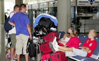 Solo el 0,3% de los turistas británicos que visitan España pasan por la región