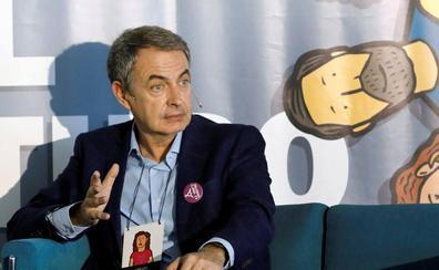 Zapatero rechaza una gran coalición entre PSOE y PP