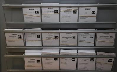 Unos 6.000 burgaleses rechazan la propaganda electoral por correo