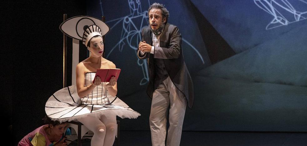 La niña de los ojos de porcelana llega a Burgos con una estética modernista en un espectáculo de teatro danza