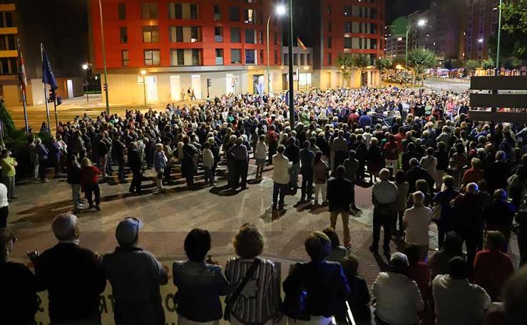 Manifestación contra la reordenación de la Atención Primaria en Burgos
