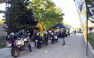 58 personas participan en el I Rally Mototurístico Camino del Cid