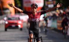 Obra maestra de Bernal en el Giro del Piamonte