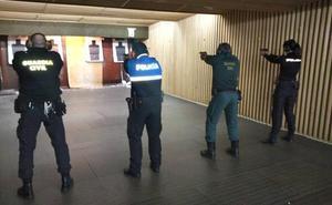 60 participantes se dan cita en el Campeonato Policial Provincial de Tiro