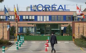 L'Oréal compra una parcela de 87 metros cuadrados para crear un nuevo acceso a la fábrica de Burgos