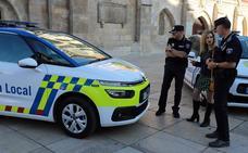 Así es el nuevo diseño de los coches de la Policía Local de Burgos