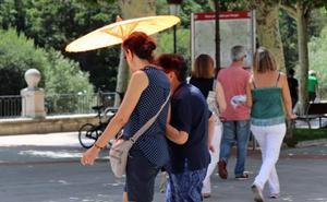 Burgos se queda a dos grados de superar su máxima histórica de 29,1 en octubre pero Medina de Pomar alcanza los 28,8 grados
