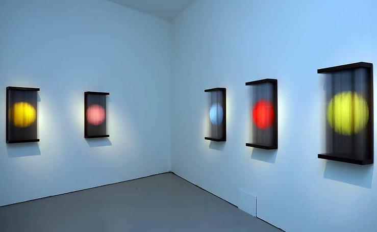 Imágenes de la exposición de Yoshiyuki Miura en el CAB