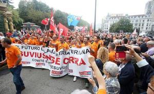 Industria admite que no es optimista en la negociación con Vesuvius