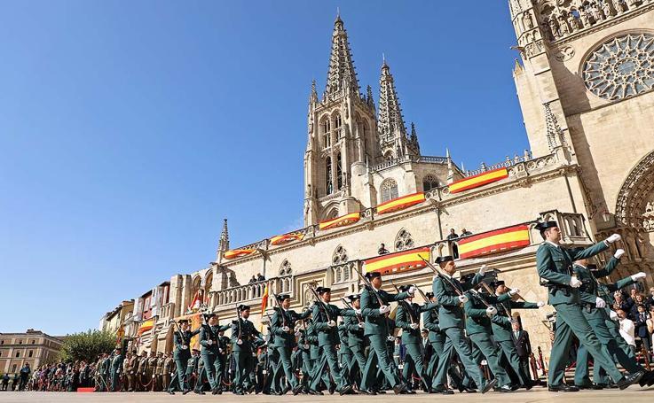 Escenario patrimonio mundial para celebrar el 175 aniversario de la Guardia Civil