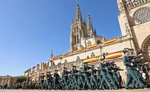 La Guardia Civil celebra la Virgen del Pilar en el corazón de Burgos