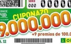 El Cuponazo de la ONCE deja 350.000 euros en Burgos