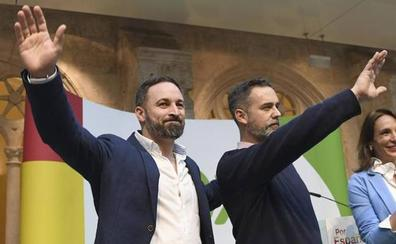 Abascal participará el 19 de octubre en Burgos en el acto de apoyo a la candidatura de Martínez al Congreso