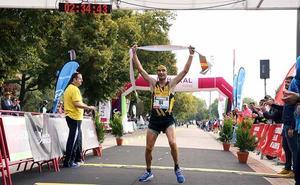 Héctor Franco, Rebeca Ruiz, Óscar Cavia y Mónica Gutiérrez, nombres propios de un maratón monumental