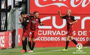 El Mirandés coge oxígeno con su segunda victoria de la temporada