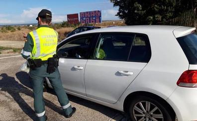 Denuncian en una semana a 57 personas en Burgos por no llevar puesto el cinturón de seguridad
