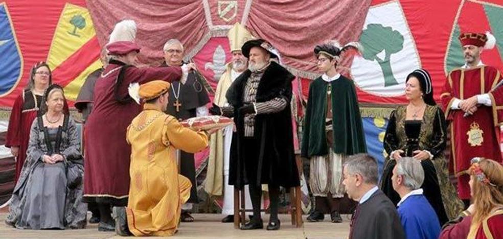 Medina de Pomar ya está preparada para festejar el paso de Carlos V por la provincia burgalesa