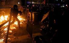 Segunda jornada de protestas en Cataluña tras la sentencia del 'procés'