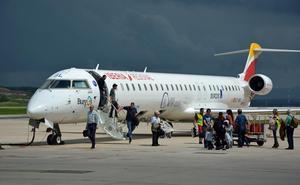El Aeropuerto de Burgos registra una caída del 6% en los pasajeros de septiembre, la primera desde la llegada de la ruta a Barcelona