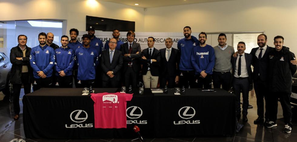 El San Pablo Burgos y Lexus renuevan su colaboración por una temporada más