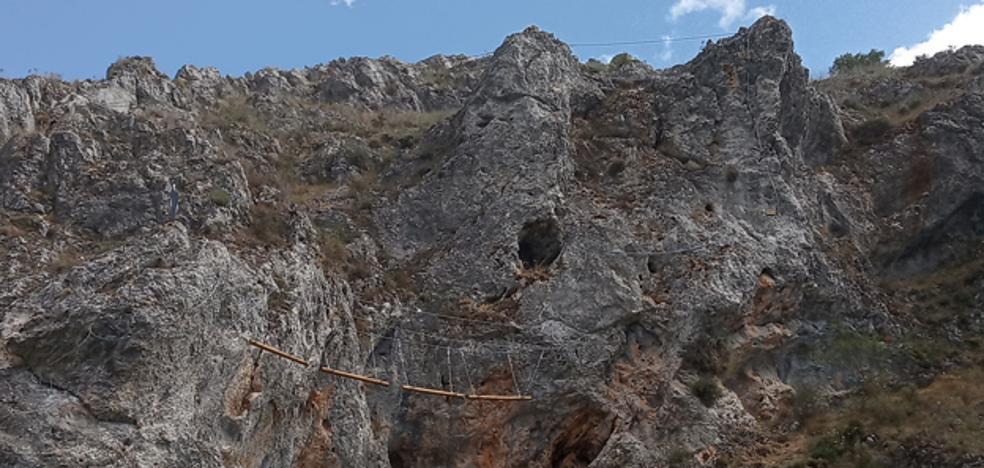 Huerta de Rey inaugura una nueva vía ferrata en la provincia de Burgos