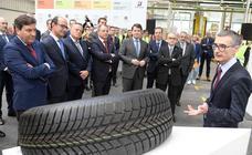 La planta de Bridgestone fabrica su neumático número 300 millones