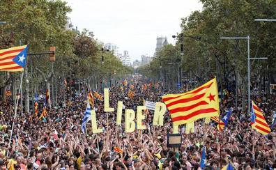 El independentismo saca a la calle a medio millón de personas contra la sentencia