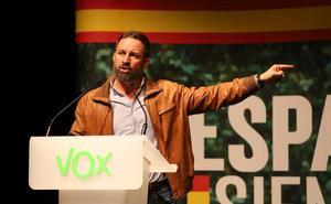 Abascal exhorta en Burgos al Gobierno a aplicar el estado de excepción en Cataluña