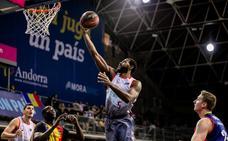 Imágenes del partido disputado entre MoraBanc Andorra y San Pablo Burgos