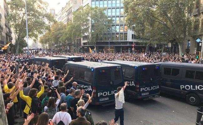 Directo | Sexta jornada de protestas en Cataluña