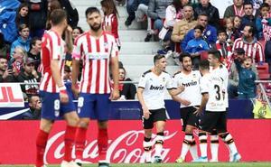 El Atlético, empate a empate
