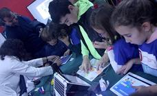 Imágenes de la I Feria de la Ciencia de Miranda de Ebro