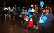 Burgos se tiñe de azul por el Día Internacional de la Diabetes