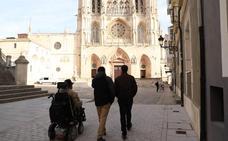 Burgos elimina las barreras arquitectónicas para llegar hasta la Catedral de Burgos por la calle Santa Águeda