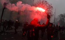 Las calles francesas retumban contra Macron