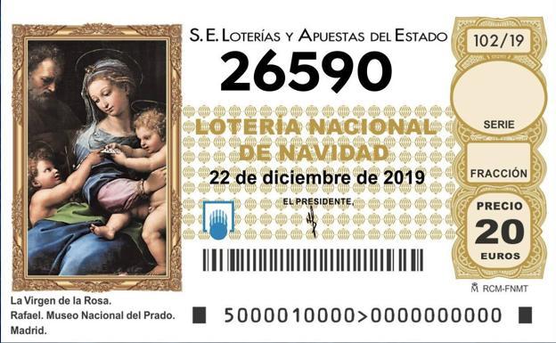 Salamanca recibe el Gordo de la Lotería de Navidad 2019 gracias al 26.590
