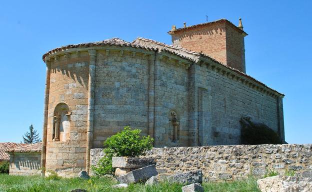 Ermita románica de Arenillas.