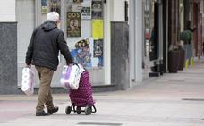 Las calles de Miranda de Ebro comienzan a verse afectadas por el miedo al coronavirus